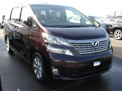 New Toyota Vellfire from Japan